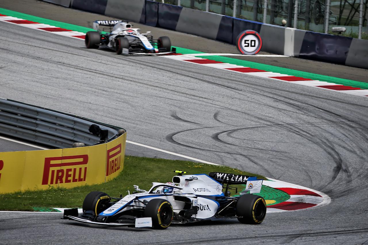 GP STIRIA, Nicholas Latifi (CDN) Williams Racing FW43. 12.07.2020. Formula 1 World Championship, Rd 2, Steiermark Grand Prix, Spielberg, Austria, Gara Day. - www.xpbimages.com, EMail: requests@xpbimages.com © Copyright: Batchelor / XPB Images
