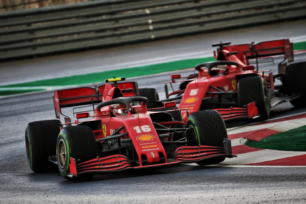 GP TURCHIA, Charles Leclerc (MON) Ferrari SF1000. 15.11.2020. Formula 1 World Championship, Rd 14, Turkish Grand Prix, Istanbul, Turkey, Gara Day. - www.xpbimages.com, EMail: requests@xpbimages.com © Copyright: Batchelor / XPB Images