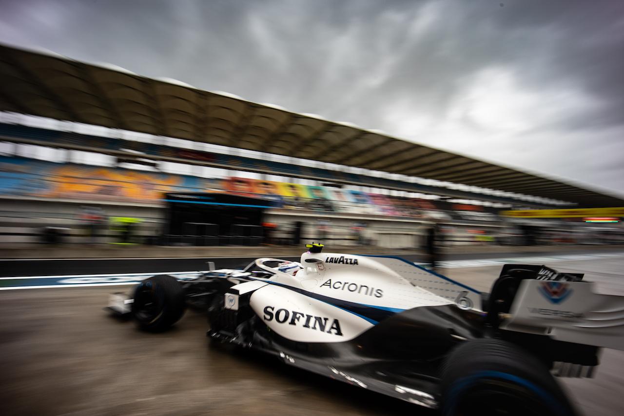 GP TURCHIA, Nicholas Latifi (CDN) Williams Racing FW43. 14.11.2020. Formula 1 World Championship, Rd 14, Turkish Grand Prix, Istanbul, Turkey, Qualifiche Day. - www.xpbimages.com, EMail: requests@xpbimages.com © Copyright: Bearne / XPB Images