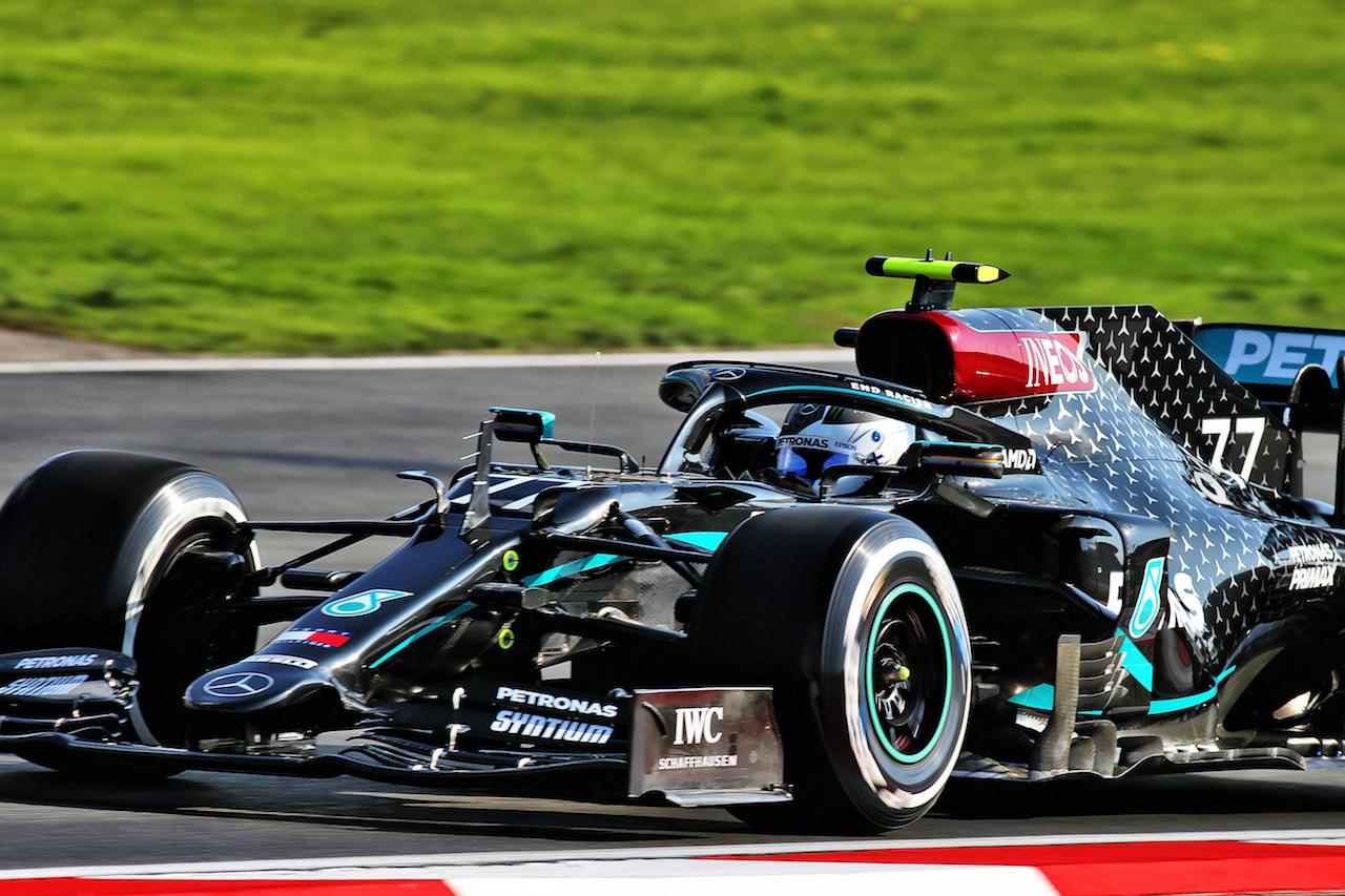 GP TURCHIA, Valtteri Bottas (FIN) Mercedes AMG F1 W11. 13.11.2020 Formula 1 World Championship, Rd 14, Turkish Grand Prix, Istanbul, Turkey, Practice Day. - www.xpbimages.com, EMail: requests@xpbimages.com © Copyright: Batchelor / XPB Images