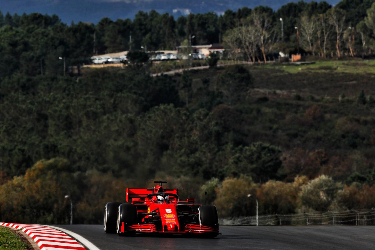 GP TURCHIA, Sebastian Vettel (GER) Ferrari SF1000. 13.11.2020 Formula 1 World Championship, Rd 14, Turkish Grand Prix, Istanbul, Turkey, Practice Day. - www.xpbimages.com, EMail: requests@xpbimages.com © Copyright: Staley / XPB Images