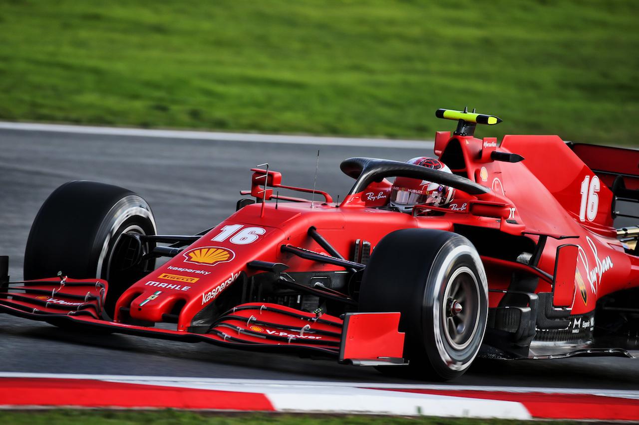 GP TURCHIA, Charles Leclerc (MON) Ferrari SF1000. 13.11.2020 Formula 1 World Championship, Rd 14, Turkish Grand Prix, Istanbul, Turkey, Practice Day. - www.xpbimages.com, EMail: requests@xpbimages.com © Copyright: Batchelor / XPB Images