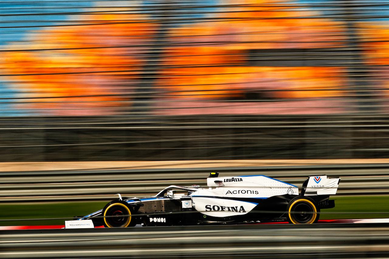 GP TURCHIA, Nicholas Latifi (CDN) Williams Racing FW43. 13.11.2020 Formula 1 World Championship, Rd 14, Turkish Grand Prix, Istanbul, Turkey, Practice Day. - www.xpbimages.com, EMail: requests@xpbimages.com © Copyright: Staley / XPB Images