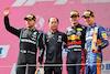 GP AUSTRIA, The podium (L to R): Valtteri Bottas (FIN) Mercedes AMG F1, second; Toyoharu Tanabe (JPN) Honda Racing F1 Technical Director; Max Verstappen (NLD) Red Bull Racing, vincitore; Lando Norris (GBR) McLaren, third. 04.07.2021. Formula 1 World Championship, Rd 9, Austrian Grand Prix, Spielberg, Austria, Gara Day. - www.xpbimages.com, EMail: requests@xpbimages.com © Copyright: Batchelor / XPB Images