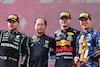 GP AUSTRIA, Valtteri Bottas (FIN), Mercedes AMG F1, Max Verstappen (NLD), Red Bull Racing e Lando Norris (GBR), McLaren F1 Team 04.07.2021. Formula 1 World Championship, Rd 9, Austrian Grand Prix, Spielberg, Austria, Gara Day.- www.xpbimages.com, EMail: requests@xpbimages.com © Copyright: Charniaux / XPB Images