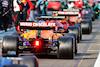 GP AZERBAIJAN, Daniel Ricciardo (AUS) McLaren MCL35M in the pits while the race is stopped. 06.06.2021. Formula 1 World Championship, Rd 6, Azerbaijan Grand Prix, Baku Street Circuit, Azerbaijan, Gara Day. - www.xpbimages.com, EMail: requests@xpbimages.com © Copyright: Charniaux / XPB Images