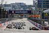 GP AZERBAIJAN, Charles Leclerc (MON) Ferrari SF-21 davanti a at the partenza of the race. 06.06.2021. Formula 1 World Championship, Rd 6, Azerbaijan Grand Prix, Baku Street Circuit, Azerbaijan, Gara Day. - www.xpbimages.com, EMail: requests@xpbimages.com © Copyright: Batchelor / XPB Images