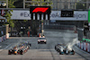 GP AZERBAIJAN, (L to R): Sergio Perez (MEX) Red Bull Racing RB16B e Lewis Hamilton (GBR) Mercedes AMG F1 W12 at the repartenza of the race. 06.06.2021. Formula 1 World Championship, Rd 6, Azerbaijan Grand Prix, Baku Street Circuit, Azerbaijan, Gara Day. - www.xpbimages.com, EMail: requests@xpbimages.com © Copyright: Batchelor / XPB Images