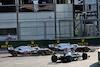 GP AZERBAIJAN, Lewis Hamilton (GBR) Mercedes AMG F1 W12 rejoins the circuit at the repartenza of the race. 06.06.2021. Formula 1 World Championship, Rd 6, Azerbaijan Grand Prix, Baku Street Circuit, Azerbaijan, Gara Day. - www.xpbimages.com, EMail: requests@xpbimages.com © Copyright: Batchelor / XPB Images