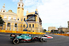 GP AZERBAIJAN, Sebastian Vettel (GER) Aston Martin F1 Team AMR21. 06.06.2021. Formula 1 World Championship, Rd 6, Azerbaijan Grand Prix, Baku Street Circuit, Azerbaijan, Gara Day. - www.xpbimages.com, EMail: requests@xpbimages.com © Copyright: Moy / XPB Images