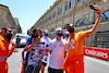 GP AZERBAIJAN, Nikita Mazepin (RUS) Haas F1 Team with marshals. 03.06.2021. Formula 1 World Championship, Rd 6, Azerbaijan Grand Prix, Baku Street Circuit, Azerbaijan, Preparation Day. - www.xpbimages.com, EMail: requests@xpbimages.com © Copyright: Moy / XPB Images