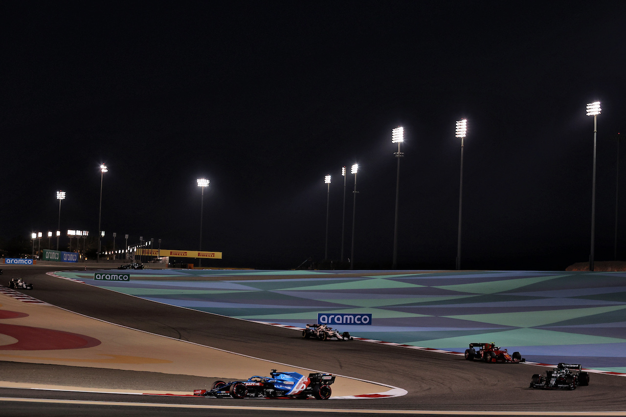 GP BAHRAIN, Fernando Alonso (ESP) Alpine F1 Team A521.