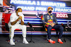 GP FRANCIA, (L to R): Lewis Hamilton (GBR) Mercedes AMG F1 e Max Verstappen (NLD) Red Bull Racing in the post race FIA Press Conference. 20.06.2021. Formula 1 World Championship, Rd 7, French Grand Prix, Paul Ricard, France, Gara Day. - www.xpbimages.com, EMail: requests@xpbimages.com © Copyright: FIA Pool Image for Editorial Use Only