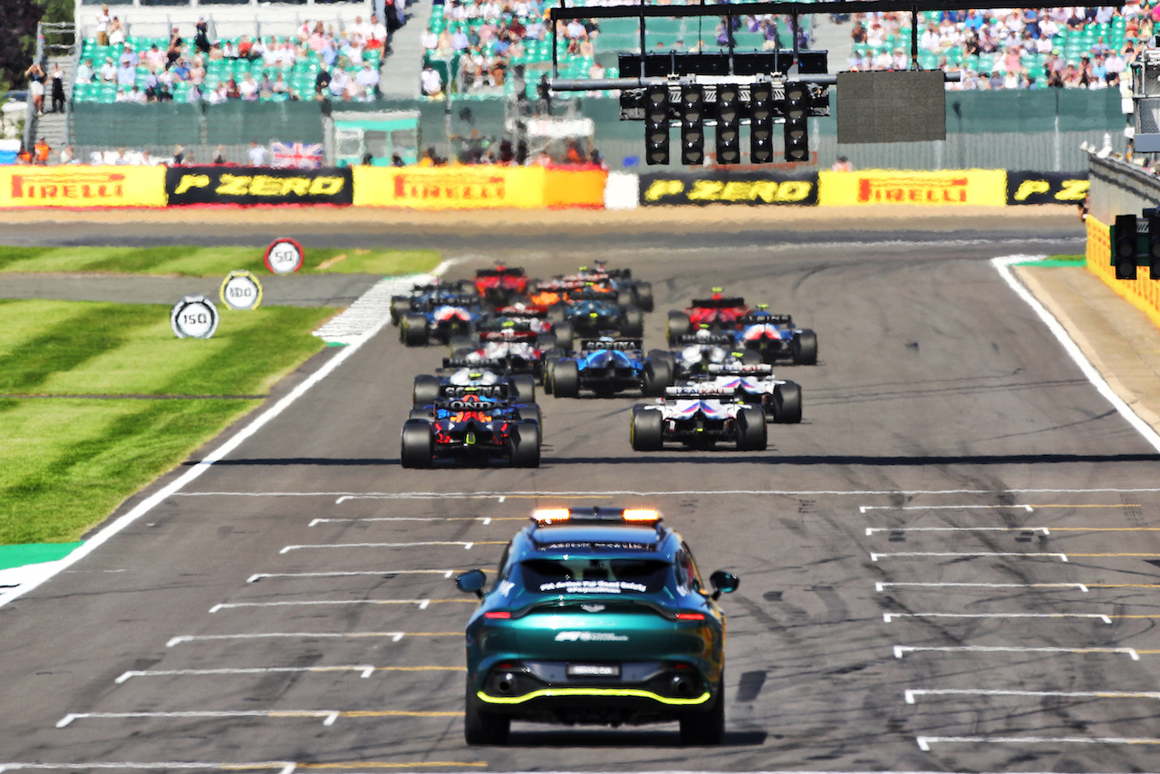 GP GRAN BRETAGNA, The repartenza of the race. 18.07.2021. Formula 1 World Championship, Rd 10, British Grand Prix, Silverstone, England, Gara Day.  - www.xpbimages.com, EMail: requests@xpbimages.com © Copyright: Davenport / XPB Images