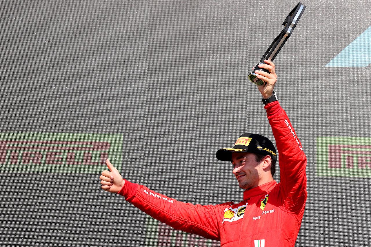 GP GRAN BRETAGNA, 2nd place Charles Leclerc (MON) Ferrari.18.07.2021. Formula 1 World Championship, Rd 10, British Grand Prix, Silverstone, England, Gara Day.- www.xpbimages.com, EMail: requests@xpbimages.com © Copyright: Batchelor / XPB Images