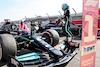 GP GRAN BRETAGNA, Gara winner Lewis Hamilton (GBR) Mercedes AMG F1 W12 in parc ferme with team mate Valtteri Bottas (FIN) Mercedes AMG F1. 18.07.2021. Formula 1 World Championship, Rd 10, British Grand Prix, Silverstone, England, Gara Day. - www.xpbimages.com, EMail: requests@xpbimages.com © Copyright: Batchelor / XPB Images