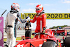 GP GRAN BRETAGNA, (L to R): George Russell (GBR) Williams Racing with Charles Leclerc (MON) Ferrari SF-21 in parc ferme. 18.07.2021. Formula 1 World Championship, Rd 10, British Grand Prix, Silverstone, England, Gara Day. - www.xpbimages.com, EMail: requests@xpbimages.com © Copyright: Batchelor / XPB Images