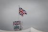 GP GRAN BRETAGNA, Circuit Atmosfera - BRDC building e flag. 15.07.2021. Formula 1 World Championship, Rd 10, British Grand Prix, Silverstone, England, Preparation Day. - www.xpbimages.com, EMail: requests@xpbimages.com © Copyright: Bearne / XPB Images
