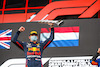 GP IMOLA, Gara winner Max Verstappen (NLD) Red Bull Racing  celebrates on the podium. 18.04.2021. Formula 1 World Championship, Rd 2, Emilia Romagna Grand Prix, Imola, Italy, Gara Day. - www.xpbimages.com, EMail: requests@xpbimages.com © Copyright: FIA Pool Image for Editorial Use Only