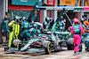 GP IMOLA, Sebastian Vettel (GER) Aston Martin F1 Team AMR21 makes a pit stop. 18.04.2021. Formula 1 World Championship, Rd 2, Emilia Romagna Grand Prix, Imola, Italy, Gara Day. - www.xpbimages.com, EMail: requests@xpbimages.com © Copyright: Moy / XPB Images