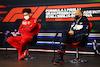 GP IMOLA, (L to R): Mattia Binotto (ITA) Ferrari Team Principal e Franz Tost (AUT) AlphaTauri Team Principal, in the FIA Press Conference. 16.04.2021. Formula 1 World Championship, Rd 2, Emilia Romagna Grand Prix, Imola, Italy, Practice Day. - www.xpbimages.com, EMail: requests@xpbimages.com © Copyright: FIA Pool Image for Editorial Use Only