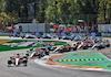 GP ITALIA, Daniel Ricciardo (AUS) McLaren MCL35M davanti a at the partenza of the race. 12.09.2021. Formula 1 World Championship, Rd 14, Italian Grand Prix, Monza, Italy, Gara Day. - www.xpbimages.com, EMail: requests@xpbimages.com © Copyright: Batchelor / XPB Images