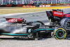 GP ITALIA, Max Verstappen (NLD) Red Bull Racing RB16B e Lewis Hamilton (GBR) Mercedes AMG F1 W12 crashed at the first chicane. 12.09.2021. Formula 1 World Championship, Rd 14, Italian Grand Prix, Monza, Italy, Gara Day. - www.xpbimages.com, EMail: requests@xpbimages.com © Copyright: Batchelor / XPB Images