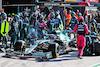GP OLANDA, Sebastian Vettel (GER) Aston Martin F1 Team AMR21 makes a pit stop. 05.09.2021. Formula 1 World Championship, Rd 13, Dutch Grand Prix, Zandvoort, Netherlands, Gara Day. - www.xpbimages.com, EMail: requests@xpbimages.com © Copyright: Moy / XPB Images