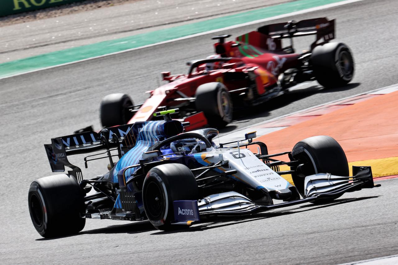 GP PORTOGALLO, Nicholas Latifi (CDN) Williams Racing FW43B. 02.05.2021. Formula 1 World Championship, Rd 3, Portuguese Grand Prix, Portimao, Portugal, Gara Day. - www.xpbimages.com, EMail: requests@xpbimages.com © Copyright: Batchelor / XPB Images
