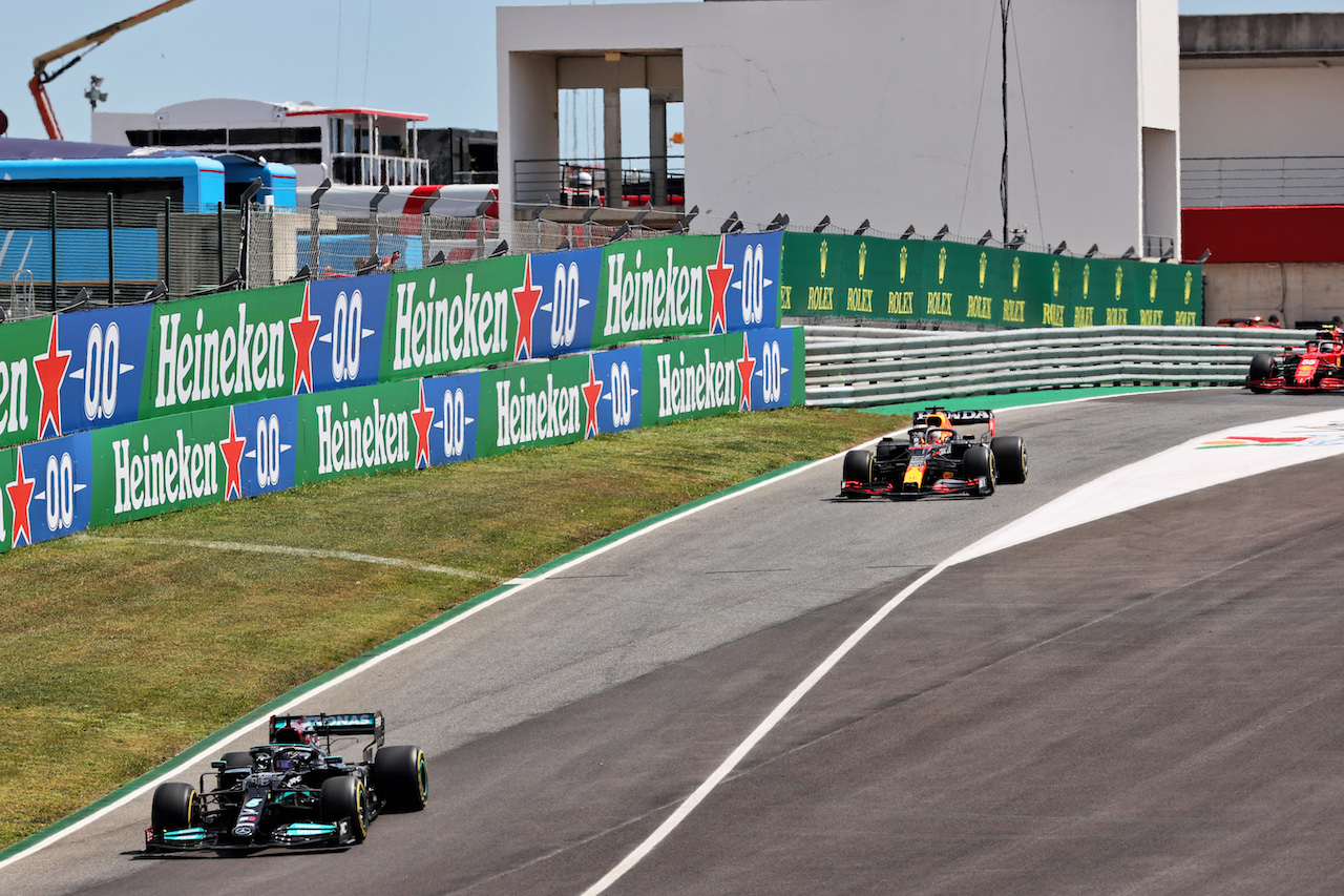 GP PORTOGALLO, Lewis Hamilton (GBR) Mercedes AMG F1 W12.