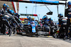 GP PORTOGALLO, Esteban Ocon (FRA) Alpine F1 Team A521 makes a pit stop. 02.05.2021. Formula 1 World Championship, Rd 3, Portuguese Grand Prix, Portimao, Portugal, Gara Day. - www.xpbimages.com, EMail: requests@xpbimages.com © Copyright: Charniaux / XPB Images