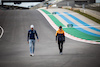 GP PORTOGALLO, (L to R): George Russell (GBR) Williams Racing walks the circuit with Lando Norris (GBR) McLaren. 29.04.2021. Formula 1 World Championship, Rd 3, Portuguese Grand Prix, Portimao, Portugal, Preparation Day. - www.xpbimages.com, EMail: requests@xpbimages.com © Copyright: Bearne / XPB Images