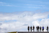 GP PORTOGALLO, Daniil Kvyat (RUS) Alpine F1 Team Reserve Driver e Fernando Alonso (ESP) Alpine F1 Team walks the circuit with the team. 29.04.2021. Formula 1 World Championship, Rd 3, Portuguese Grand Prix, Portimao, Portugal, Preparation Day. - www.xpbimages.com, EMail: requests@xpbimages.com © Copyright: Charniaux / XPB Images