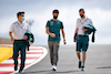GP PORTOGALLO, Lance Stroll (CDN) Aston Martin F1 Team walks the circuit with the team. 29.04.2021. Formula 1 World Championship, Rd 3, Portuguese Grand Prix, Portimao, Portugal, Preparation Day.  - www.xpbimages.com, EMail: requests@xpbimages.com © Copyright: Staley / XPB Images