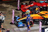 GP RUSSIA, Lando Norris (GBR) McLaren MCL35M celebrates his pole position in qualifying parc ferme. 25.09.2021. Formula 1 World Championship, Rd 15, Russian Grand Prix, Sochi Autodrom, Sochi, Russia, Qualifiche Day. - www.xpbimages.com, EMail: requests@xpbimages.com © Copyright: Moy / XPB Images