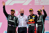 GP STIRIA, 2nd place Lewis Hamilton (GBR) Mercedes AMG F1 W12 with Dr Helmut Marko (AUT) Red Bull Motorsport Consultant , 1st place Max Verstappen (NLD) Red Bull Racing RB16B e 3rd place Valtteri Bottas (FIN) Mercedes AMG F1.27.06.2021. Formula 1 World Championship, Rd 8, Steiermark Grand Prix, Spielberg, Austria, Gara Day.- www.xpbimages.com, EMail: requests@xpbimages.com © Copyright: Batchelor / XPB Images