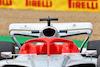 PRESENTAZIONE MONOPOSTO 2022, 2022 Car Launch - Halo cockpit cover detail. 15.07.2021. Formula 1 World Championship, Rd 10, British Grand Prix, Silverstone, England, Preparation Day. - www.xpbimages.com, EMail: requests@xpbimages.com © Copyright: Batchelor / XPB Images