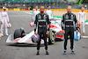 PRESENTAZIONE MONOPOSTO 2022, (L to R): Lewis Hamilton (GBR) Mercedes AMG F1 e team mate Valtteri Bottas (FIN) Mercedes AMG F1 - 2022 Car Launch. 15.07.2021. Formula 1 World Championship, Rd 10, British Grand Prix, Silverstone, England, Preparation Day. - www.xpbimages.com, EMail: requests@xpbimages.com © Copyright: Batchelor / XPB Images