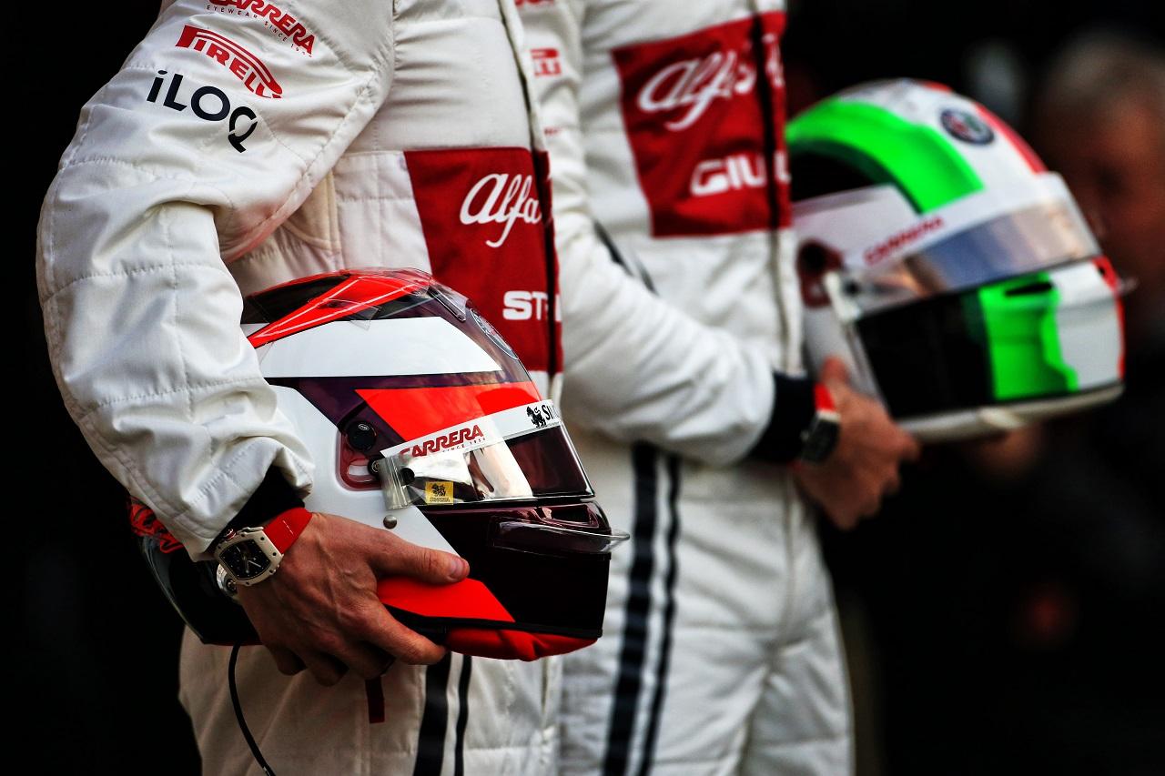 The helmet of Kimi Raikkonen (FIN) Alfa Romeo Racing. 18.02.2019.