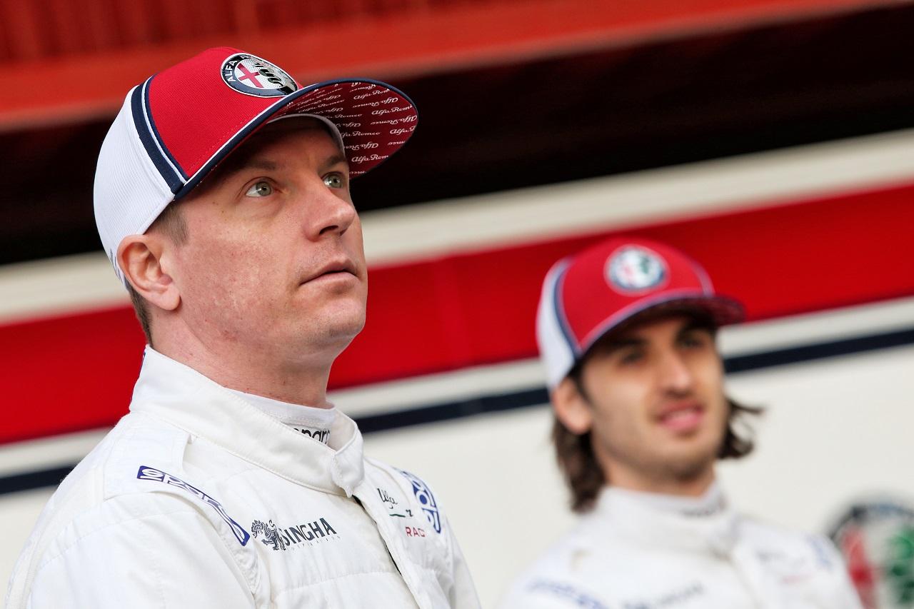 Kimi Raikkonen (FIN) Alfa Romeo Racing. 18.02.2019.