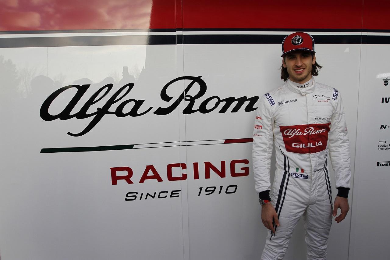 Antonio Giovinazzi (ITA) Alfa Romeo Racing 18.02.2019.