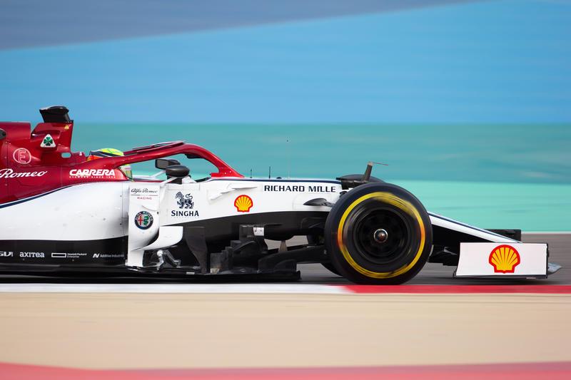 Mick Schumacher (GER) Alfa Romeo Racing C38 Test Driver. 03.04.2019.