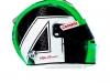 Caschi Raikkonen e Giovinazzi - Alfa Romeo Racing C38