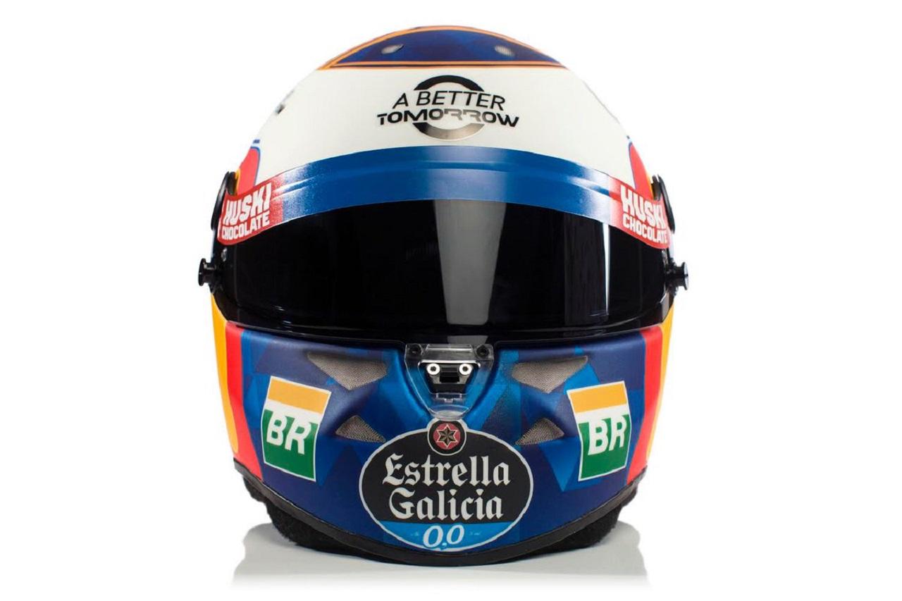 Casco Carlos Sainz - McLaren MCL34