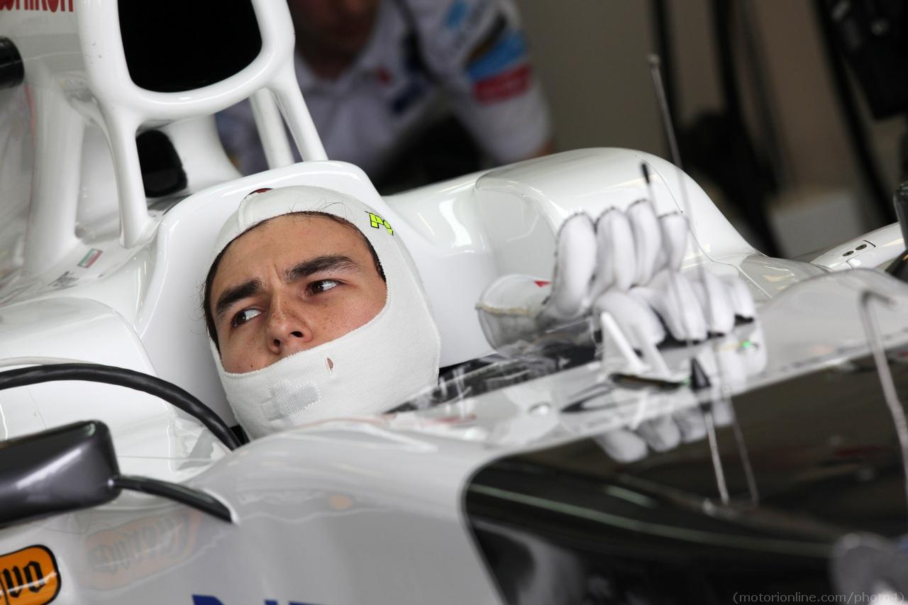Sergio Perez (MEX) Sauber F1 Team