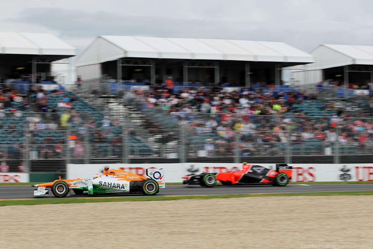 Paul Di Resta (UK) Sahara Force India F1 Team
