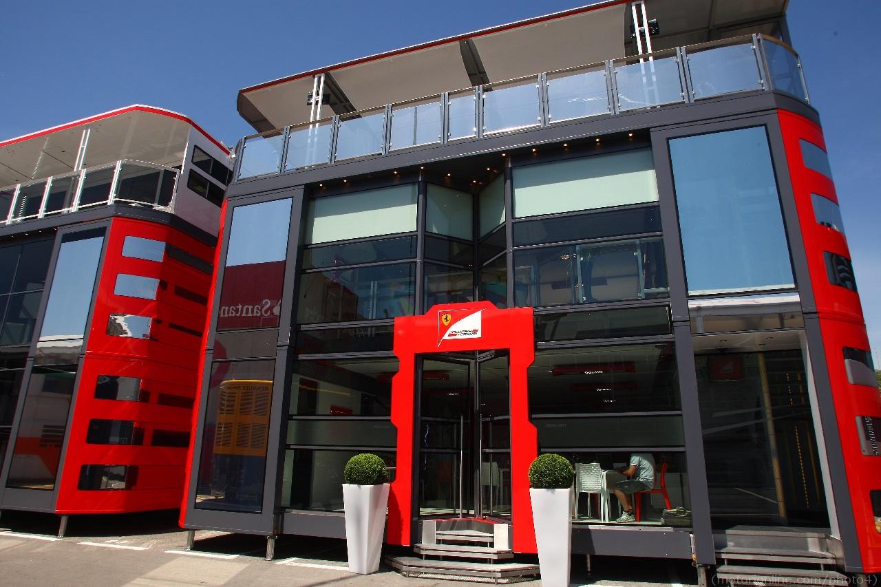 10.05.2012- Scuderia Ferrari  Hospitality