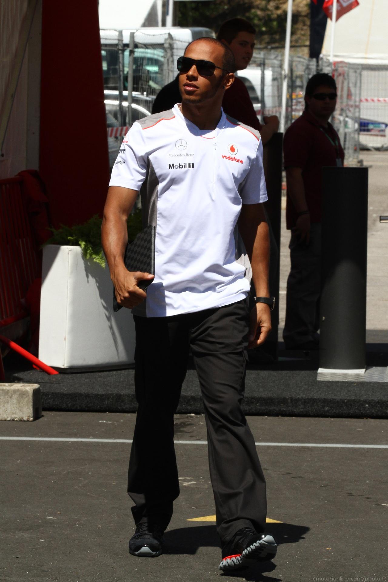 10.05.2012- Lewis Hamilton (GBR) McLaren Mercedes MP4-27