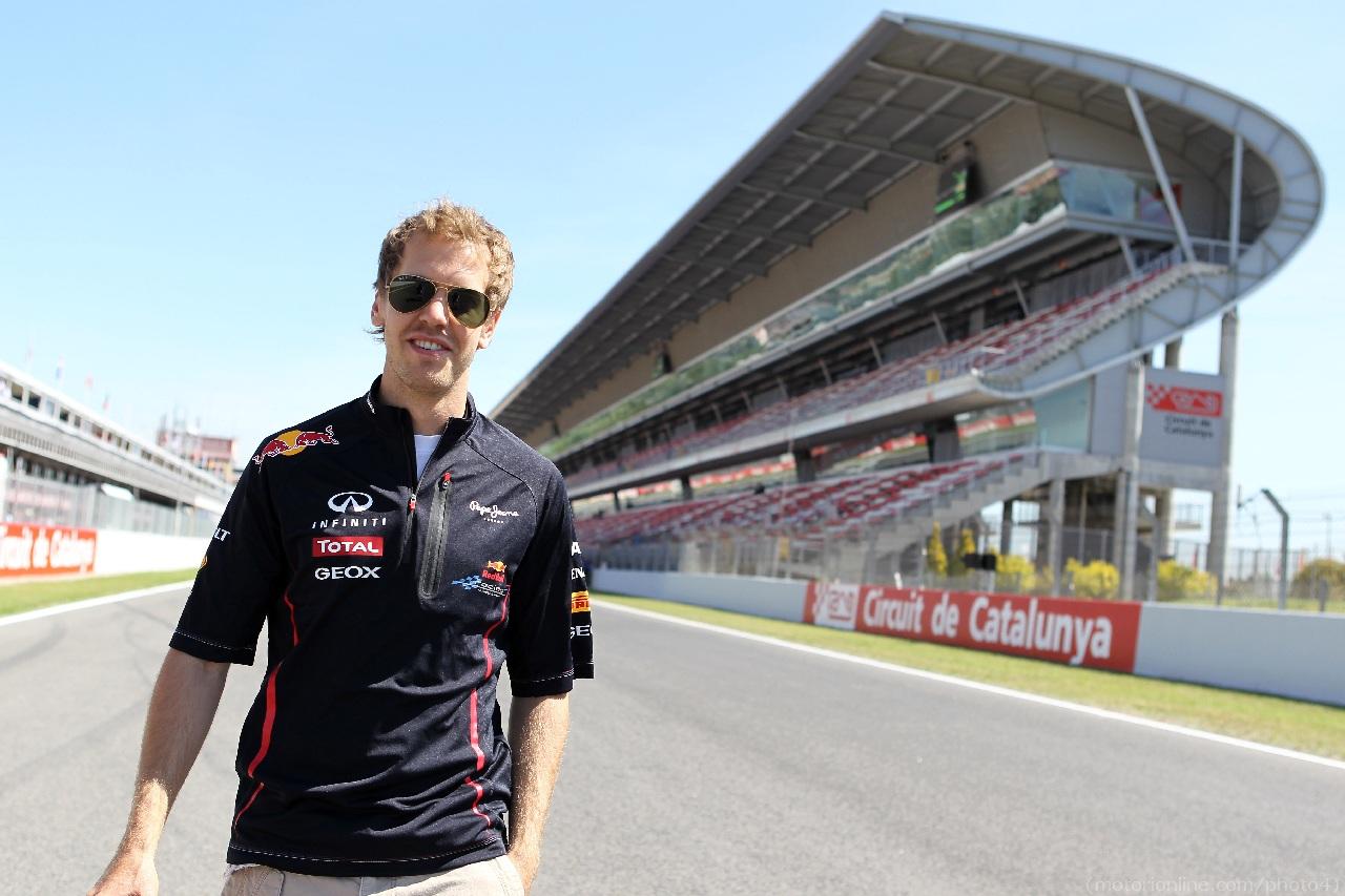 10.05.2012- Sebastian Vettel (GER) Red Bull Racing RB8