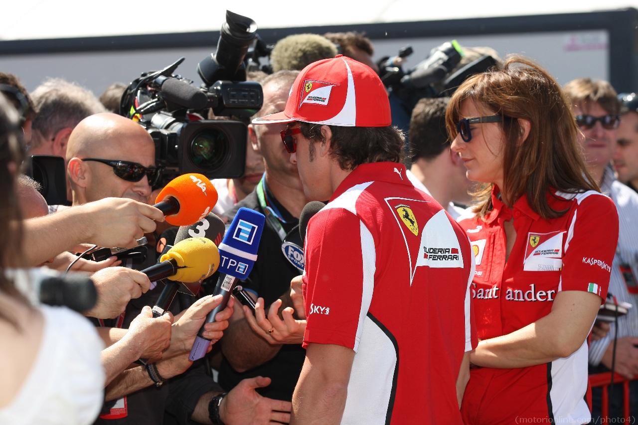 10.05.2012- Fernando Alonso (ESP) Scuderia Ferrari F2012
